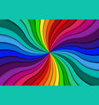 color spiral background bright colorful swirling vector image vector image