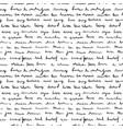 handwriting background seamless pattern grunge vector image vector image