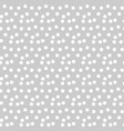 light gray background scattered dots polka vector image vector image