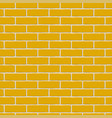 orange bricks seamless pattern vector image