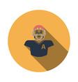 american football player icon vector image vector image