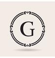 frames design emblems Vintage labels and badges vector image vector image