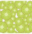 Kiwi seamless background vector image vector image