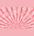 pink radiant bokeh background vector image