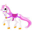 Princess horse vector image