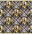 scottish tartan grunge seamless pattern leopard vector image vector image