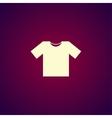 Tshirt Icon icon vector image vector image