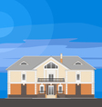 01 Classical Mansion V vector image