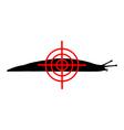 Aim at slugs vector image vector image