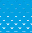 black friday pulse pattern seamless blue vector image vector image