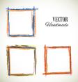 colorful set of frame
