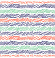 hatching seamless pattern pencil drawn lines vector image