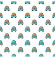 toy car pattern seamless vector image vector image