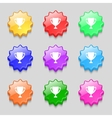 Winner cup sign icon Awarding of winners symbol vector image