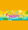 amazing songkran carnival in thailand banners