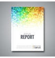 Business Report Design Background with Colorful