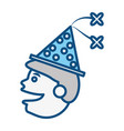 celebration party hat vector image vector image