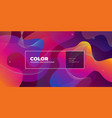 color gradient background design abstract vector image vector image