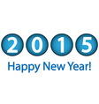 Happy New Year 2015 vector image