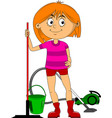help around house vector image vector image
