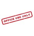 Office Use Only Rubber Stamp vector image vector image