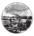 official seal us state kansas in vector image vector image