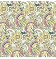 Seamless abstract hand-drawn pattern steampunk vector image vector image