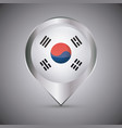 south korea design vector image