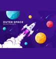 space futuristic modern colorful background with vector image
