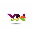 YN Logo vector image vector image