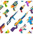 cartoon gun toy blaster for kids game vector image
