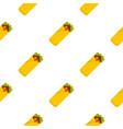 doner kebab pattern seamless vector image