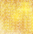 Luxury golden pattern with mixed small spots vector image vector image