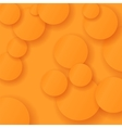 Orange Circle Background vector image