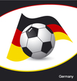 Germany football vector image