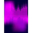 abstract background equalizer vector image vector image
