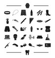 architecture tool and other web icon in black