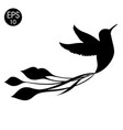 bird of colibri bird vector image