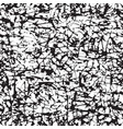 black white seamless pattern with abstract doodles vector image