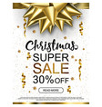 christmas sale advertising banner popular banners vector image vector image