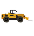 construction vehicle icon vector image vector image