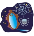 Spider and the Mirror vector image vector image