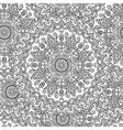 Vintage mandala seamless pattern vector image