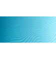 abstract blue curved waves refraction vector image