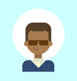 african american male wearing sun glasses emotion