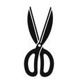 garden scissors icon simple style vector image vector image