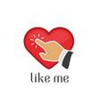 like me vector image vector image