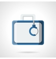 Money case flat color icon vector image