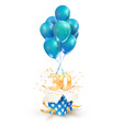30th years celebrations greetings thirty vector image vector image