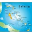 Bahamas vector image vector image